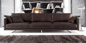 Canapé 4 Places Cuir : canap en cuir avignon by ~ Teatrodelosmanantiales.com Idées de Décoration