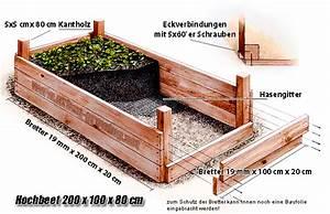 Hochbeet Bauen Anleitung : hochbeet bauplan gartentippsgartentipps ~ Orissabook.com Haus und Dekorationen