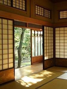 Architecture Japonaise Traditionnelle : maison japonaise traditionnelle avec tatami et engawa d co brico maison jardin pinterest ~ Melissatoandfro.com Idées de Décoration