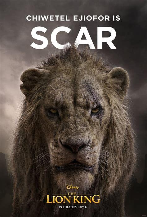 posters de los personajes del rey leon