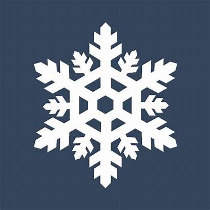 Snowflake Animated Ice Gifs Crystal Snow Frozen
