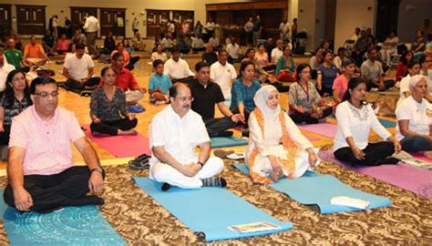 Remote Venue Robs Yoga Day Charm; Vip Attendance Saves The Day  India Post  India Post