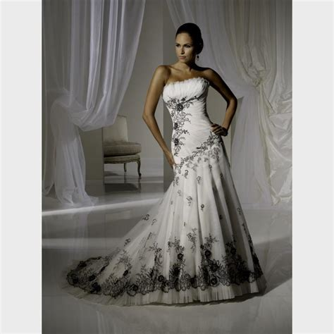 cheap black and white wedding dresses wedding dresses in redlands