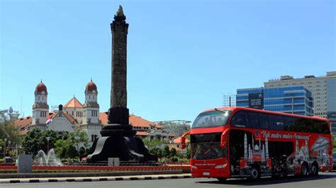 bus wisata semarang resmi beroperasi  rute  waktu