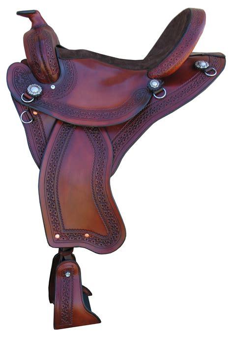 gaited saddlery tw horse saddles trail western featherweight fitting soft under info seat