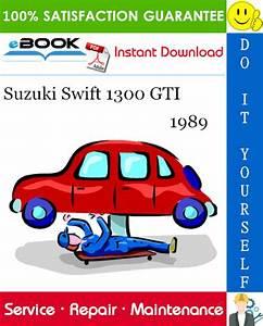 1989 Suzuki Swift 1300 Gti Service Repair Manual  U2013 Pdf