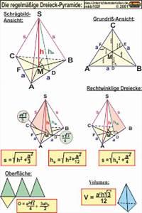 Schifterschnitt Berechnen : mkb102 die regelm ige dreieck pyramide ~ Themetempest.com Abrechnung