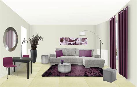 chambre prune et gris rideau gris et prune awesome douceur duinterieur voile