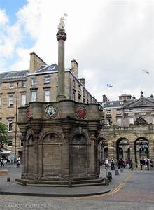 Mercat Cross Eye On Edinburgh
