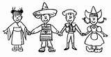 Coloring Pages Para Del Around Printable Colorear Ninos Missions Yahoo Missionaries Clip sketch template