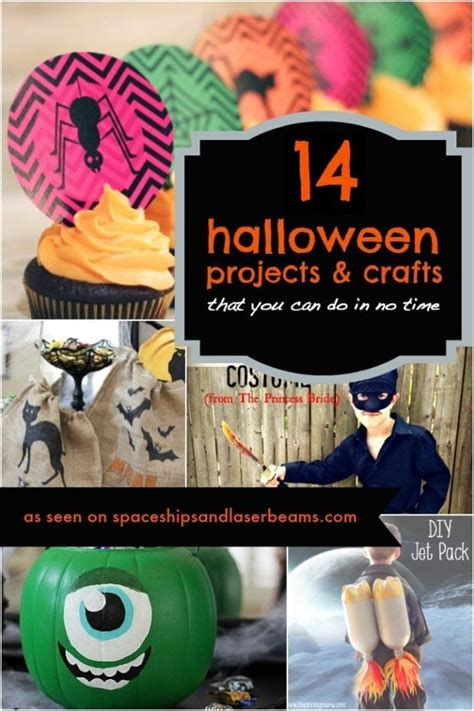 spooky diy halloween project easy diy halloween