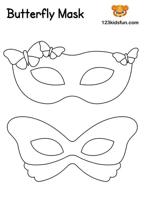 printable masquerade masks template  kids fun apps