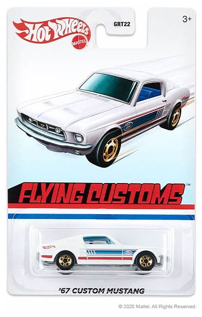 Flying Target Customs Mix Mustang Mattel Wheels