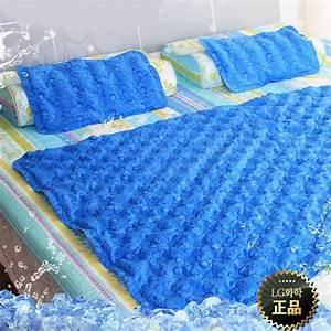 Hanil cool gel mattress pillow pad cooling topper for for Cooling pillow top mattress pad