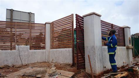 wooden gates durban