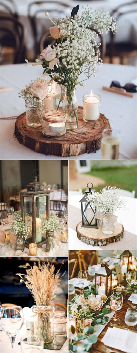 country wedding table decorations 32 rustic wedding decoration ideas to inspire your big day