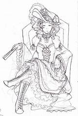 Marie Coloring Antoinette Pages Google Adult Paper Dolls Getcolorings Printable Col sketch template