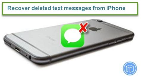 how to get back deleted messages on iphone recover deleted text messages from iphone without backup
