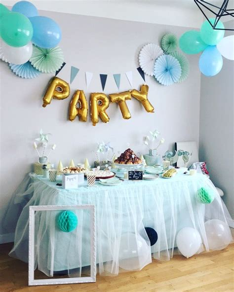 idees decoration baby shower garcon en  decoration