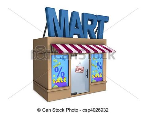 mart  image conceptual mini mart