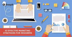 Marketing Resumes 10 Effective Marketing Strategies For Designers Freepik Blog