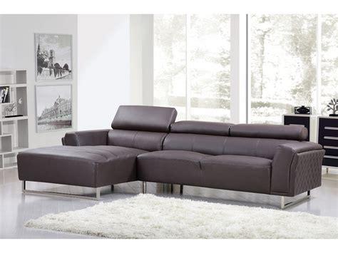 canapé d angle commandeur canapé d 39 angle cuir reconstitué pvc quot broadway quot 4 places