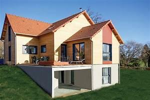 Ossature Bois Maison : maisons ossature bois ep charpente ~ Melissatoandfro.com Idées de Décoration