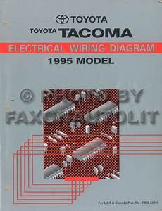 2008 Toyota Tacoma Pickup Wiring Diagram Original