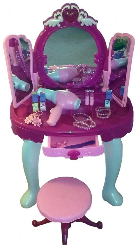 little girls makeup table cutest vanity tables for girls