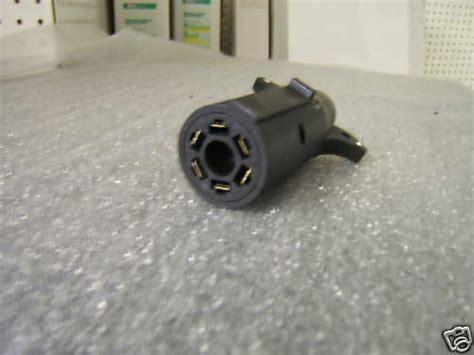 6 Pin Trailer Light Wiring 7 rv to 6 pole aux pin trailer light wiring adapter ebay