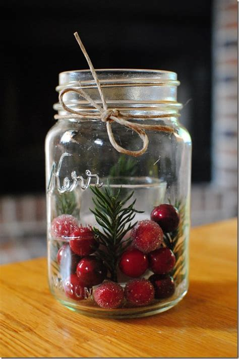 mason jar diy projects  christmas holiday world
