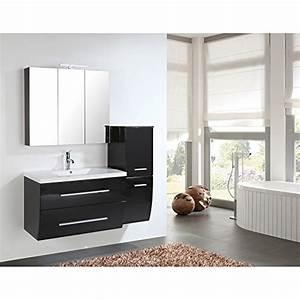 Home Deluxe Badmöbel : home deluxe badm bel set bremerhaven schwarz hochglanz inkl waschbecken und komplettem ~ Orissabook.com Haus und Dekorationen