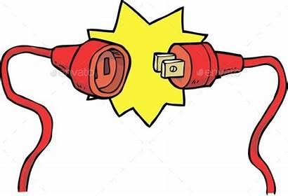 Plug Socket Clipart Plugs Clip Cartoon Vector