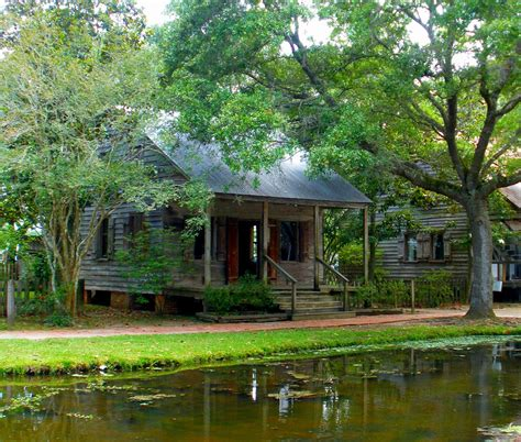 Louisiana Home Bayou by I Live The Burnt Rust Shades Of Green And Browns Acadian