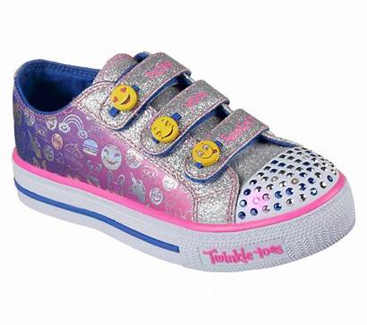 Skechers Twinkle Toes Shuffles Shoes Expressionista Pink