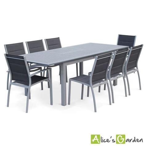 table et chaises de jardin leclerc salon de jardin 8 places table à rallonge extensible 175