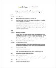 how to start a wedding planning business sle event itinerary template 9 dcouments in