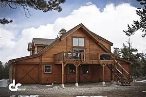 Inspiring garage kits colorado 13 pole barns with living for Barn kits colorado