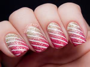 Unique striped nail art designs