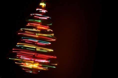 neon christmas tree wallpaper