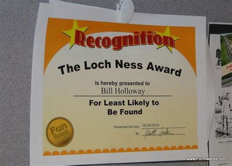 funny employee awards has office party ideas for tighter