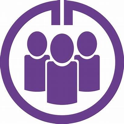 Purple Gmail Transparent Circle Logos Clip Icons