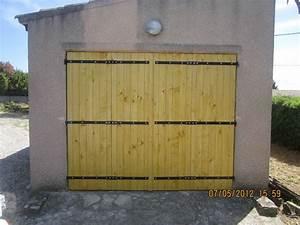 Fabriquer une porte de garage en bois myqtocom for Fabriquer une porte de garage en bois