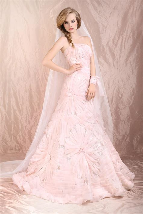 20 Stunning Blush Wedding Dresses For The Bride To Be