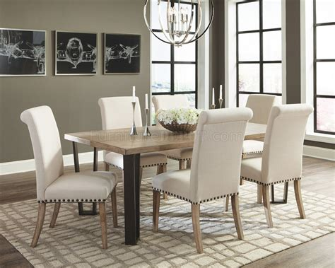 donny osmond dining table  natural wood woptions