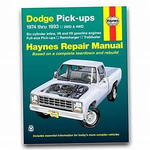 Haynes Repair Manual For 1975-1980 Dodge D200