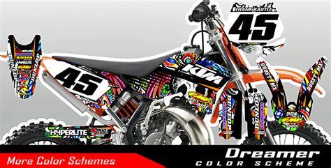 roost mx motocross graphics ktm tattoo