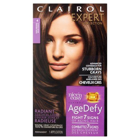 age defy hair color clairol expert collection age defy hair color 4