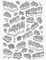 Drawing Crystal Amethyst Line Drawings Coloring Pages Sketch Tattoo Draw Crystals Simple Tumblr Sketches Jewelry Illustration Mineral Shapes Body sketch template