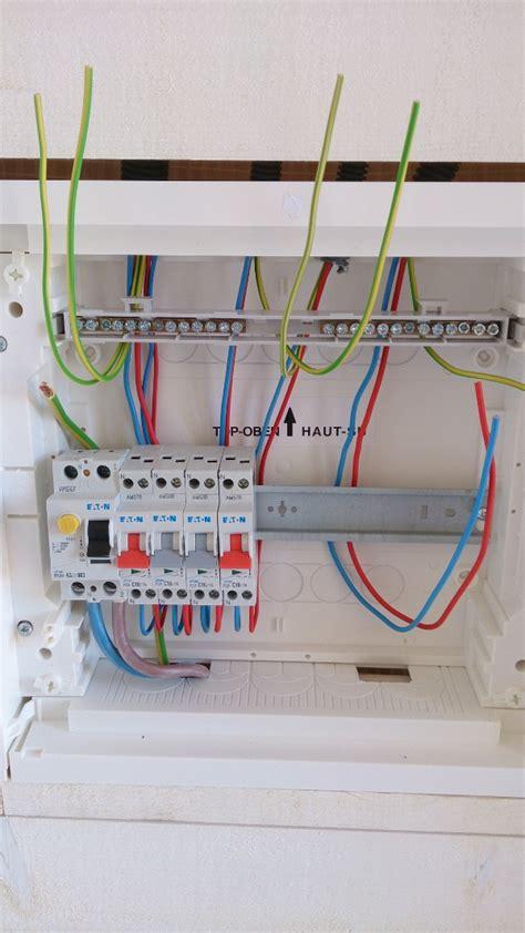 branchement electrique d une le le branchement du tableau 233 lectrique divisionnaire